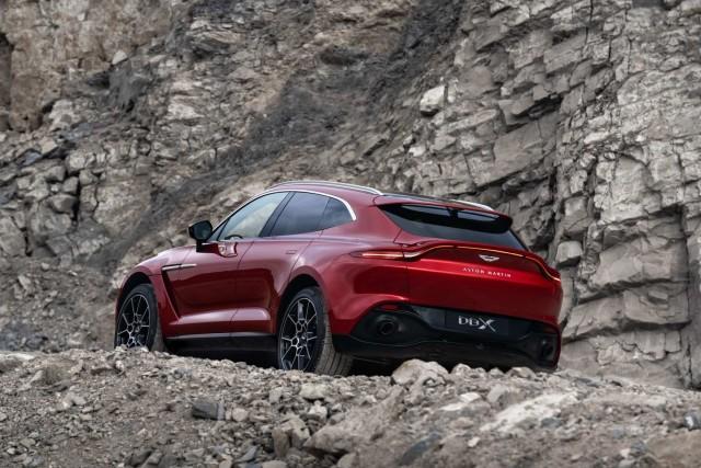 Aston reveals long-awaited DBX SUV. Image by Aston Martin.