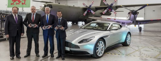 Aston Martin starts work on Welsh factory. Image by Aston Martin.