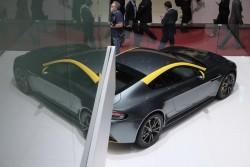 2014 Aston Martin at Geneva. Image by Newspress.