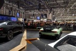 2015 Aston Martin press conference in Geneva. Image by Aston Martin.