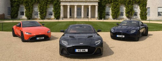 Aston announces Goodwood FoS line-up. Image by Aston Martin.