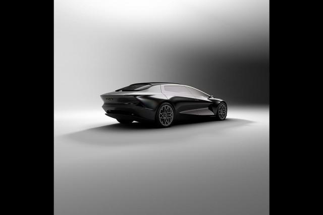 Aston reimagines Lagonda with Vision Concept. Image by Aston Martin.