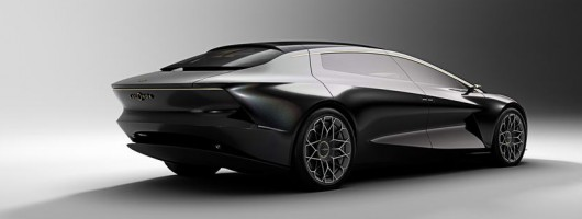 Aston reimagines Lagonda with Vision Concept. Image by Aston Martin.