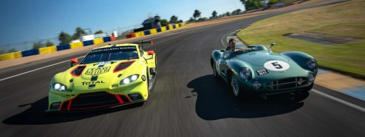 Aston wants to celebrate Le Mans anniversary with a win. Image by Aston Martin.
