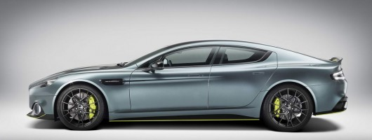 Le Mans launch for Aston Rapide AMR. Image by Aston Martin.