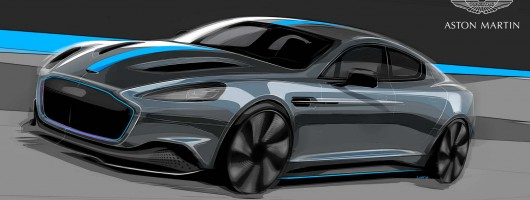 Aston Martin confirms all-electric RapidE production. Image by Aston Martin.
