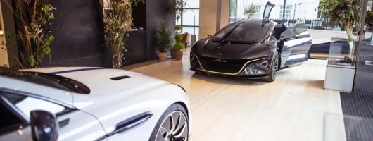 Lagonda showcases electric future. Image by Aston Martin UK.