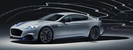 Aston confirms 610hp Rapide E. Image by Aston Martin.