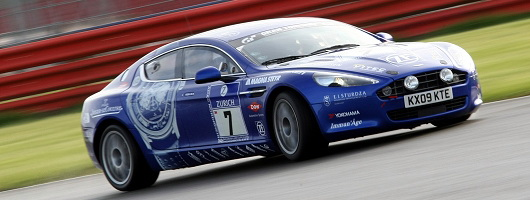 First Drive: Aston Martin Rapide racecar. Image by Nick Dimbleby.