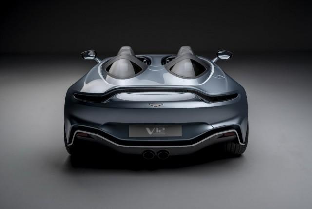 Aston's astonishing V12 Speedster breaks cover. Image by Aston Martin.