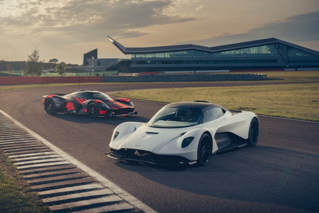 Aston debuts video of Valkyrie and Valhalla in action. Image by Dean Smith.
