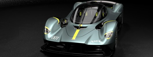 Aston lets Valkyrie customers customise. Image by Aston Martin.