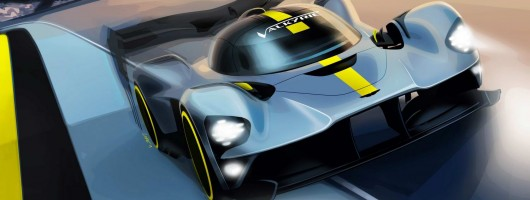 Aston Valkyrie targets 2021 Le Mans victory. Image by Aston Martin.