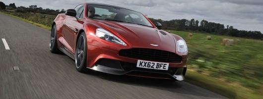 First drive: Aston Martin Vanquish. Image by Aston Martin.