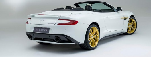 Vanquish specials mark 60 years of Aston Martin Works. Image by Aston Martin.