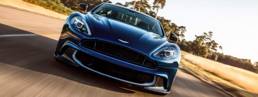 Aston releases the Vanquish S. Image by Aston Martin.