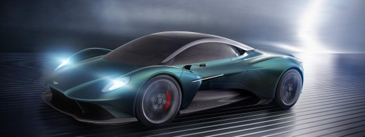 Aston Martin Vanquish shifts engine to the middle. Image by Aston Martin.