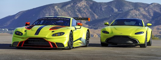 Development of Aston Vantage GTE shown in film. Image by Aston Martin.