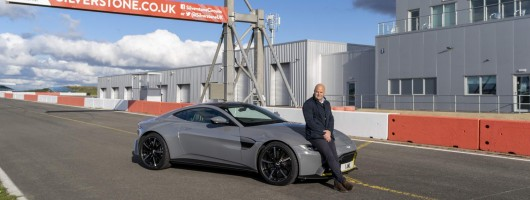 Aston Martin sets up home at Silverstone. Image by Aston Martin.
