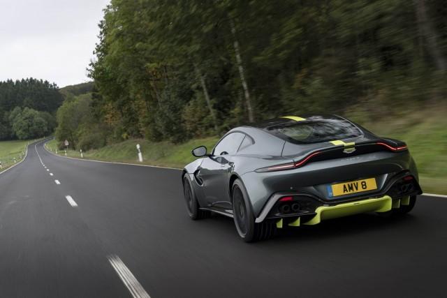 First drive: Aston Martin Vantage AMR. Image by Aston Martin.