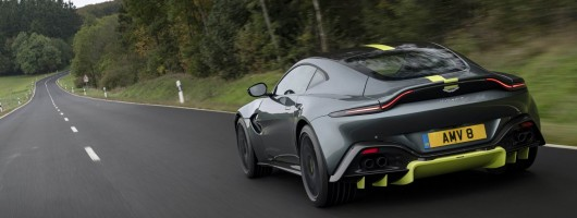 First drive: Aston Martin Vantage AMR. Image by Aston Martin.
