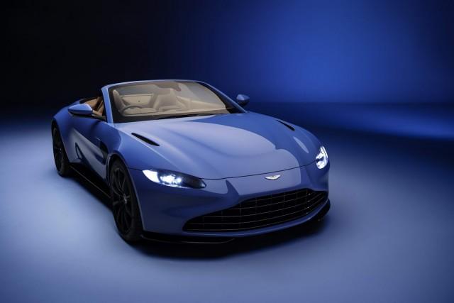 Roadster joins Aston Martin Vantage range. Image by Aston Martin.