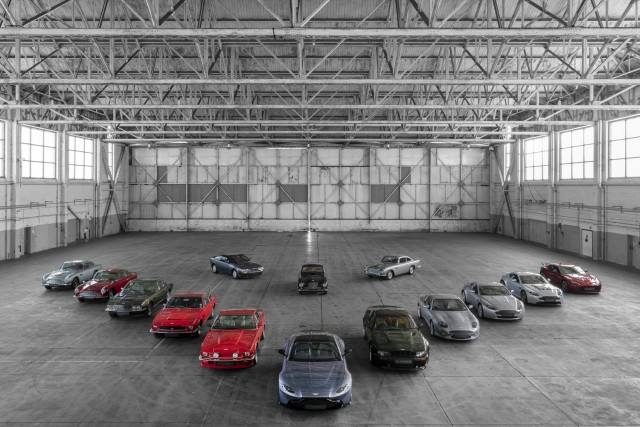 Aston Martin celebrates 70 years of Vantage. Image by Aston Martin.
