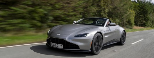 First drive: Aston Martin Vantage Roadster. Image by Aston Martin UK.
