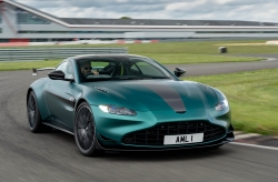 Aston unlocks power of Vantage. Image by Aston Martin/Max Earey.