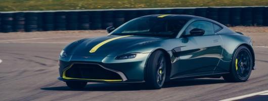 Manual Aston Vantage AMR revealed. Image by Aston Martin.