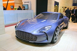 2009 Aston Martin One-77. Image by Kyle Fortune.