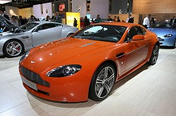2007 Aston Martin V8 Vantage N400. Image by Newspress.