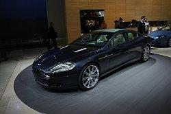 2006 Aston Martin Rapide concept. Image by Shane O' Donoghue.