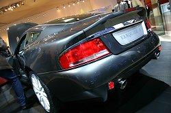 2004 Aston Martin Vanquish S. Image by Shane O' Donoghue.