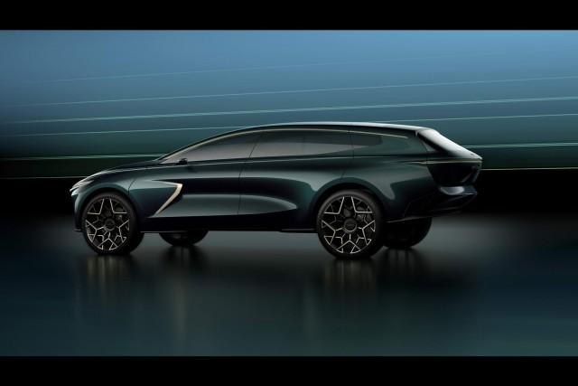 Aston takes wraps off Lagonda All-Terrain Concept. Image by Lagonda.