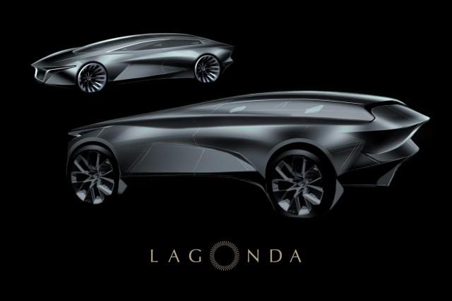 Lagonda name for luxury electric SUV. Image by Lagonda.