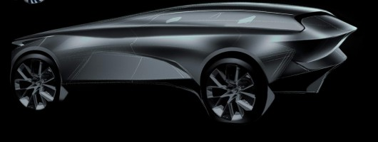 Lagonda name for luxury electric SUV. Image by Lagonda.