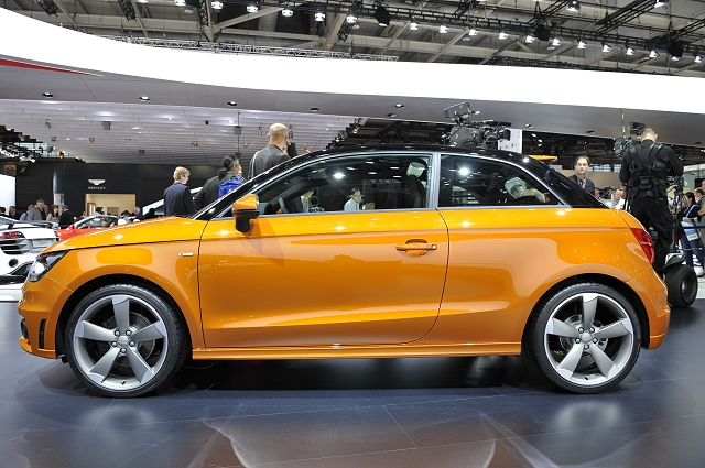 The Car Enthusiast Image Gallery 2011 Audi A1 1 4 Tfsi