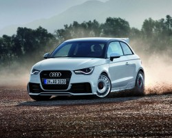 Incoming: Audi A1 quattro. Image by Audi.