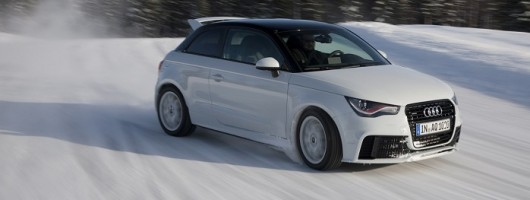 First drive: Audi A1 quattro. Image by Audi.