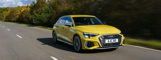 First drive: Audi S3 Sportback. Image by Audi UK.