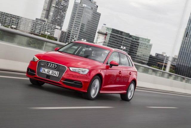 First drive: Audi A3 Sportback e-tron. Image by Audi.