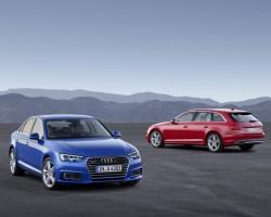 New Audi A4 revealed. Image by Audi.