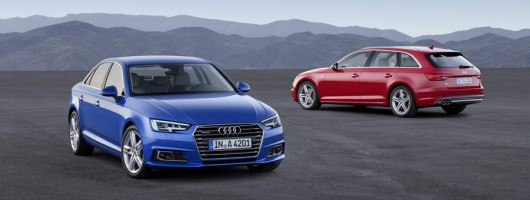 New Audi A4 revealed. Image by Audi.