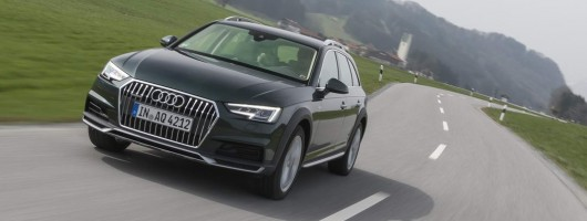 First drive: Audi A4 allroad quattro. Image by Audi.