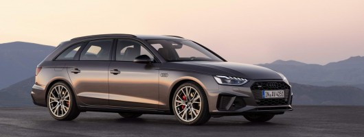 Audi updates A4 family. Image by Audi.