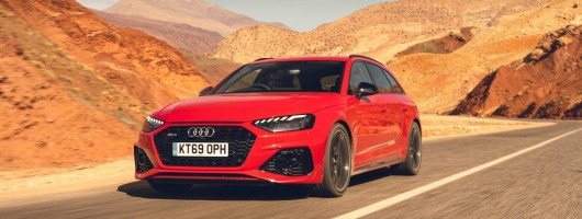 First drive: Audi RS 4 Avant (2020MY). Image by Jordan Butters.