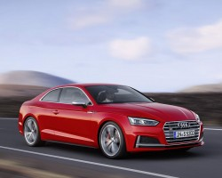 Incoming: all-new Audi S5. Image by Audi.