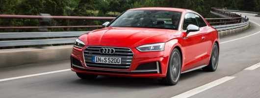 First drive: Audi S5 Coupe. Image by Audi.