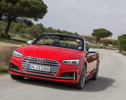 Audi's new A5 Cabriolet. Image by Audi.